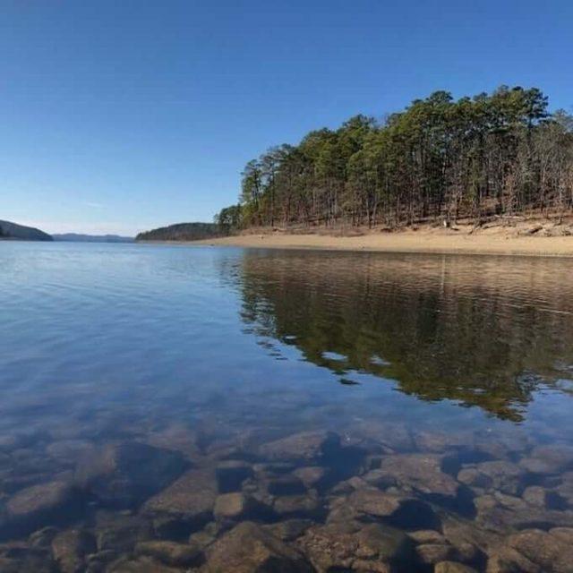 Lake Ouachita in Central Arkansas