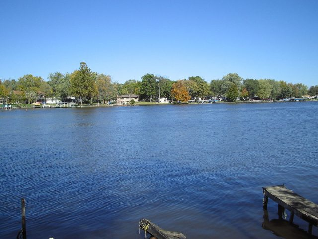 Lake Shafer in Northern Indiana
