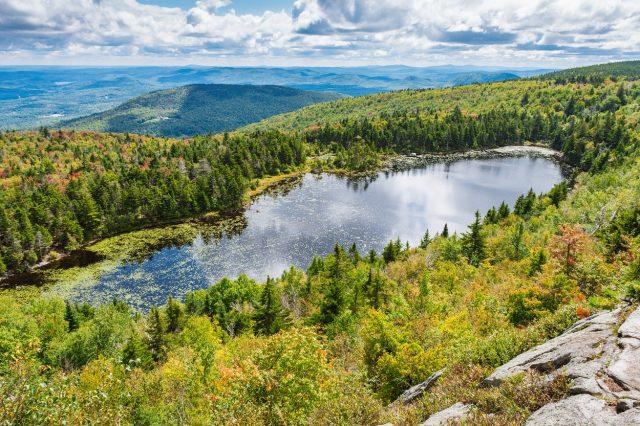 Lake Solitude in New Hampshire