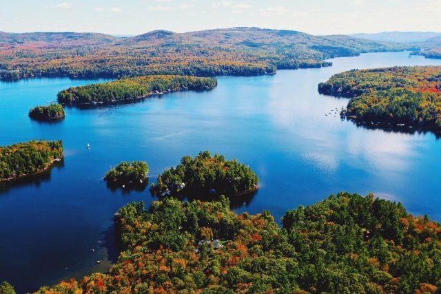 Lake Sunapee in New Hampshire
