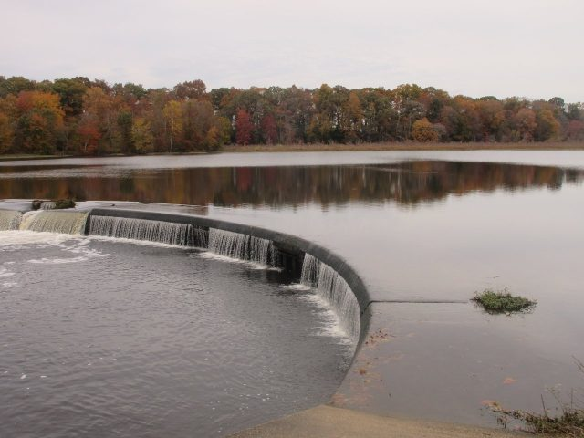 Lake Tuckahoe in Eastern Maryland