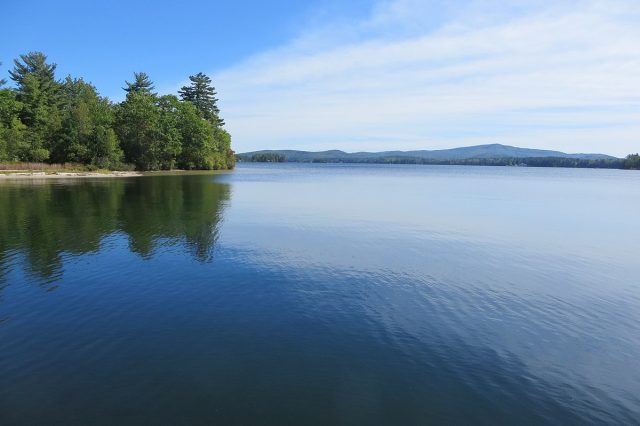 Lake Wentworth in New Hampshire