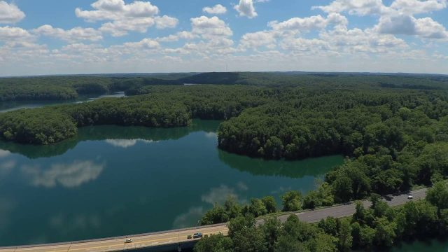 Liberty Reservoir in Central Maryland