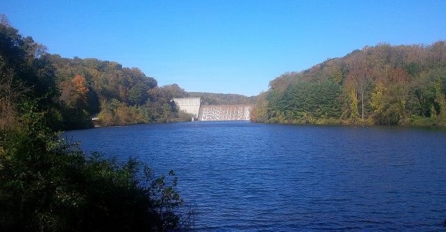 Loch Raven Reservoir in Northern Maryland
