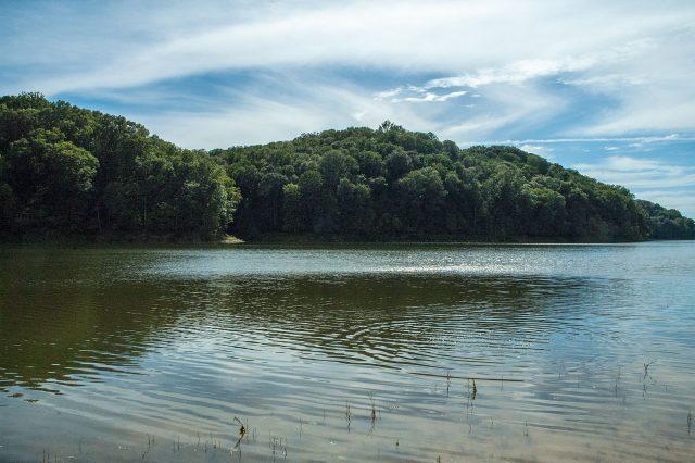 Monroe Lake in Southern Indiana