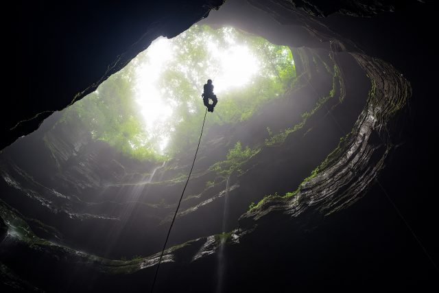 Neversink Cave Reserve in Northern Alabama