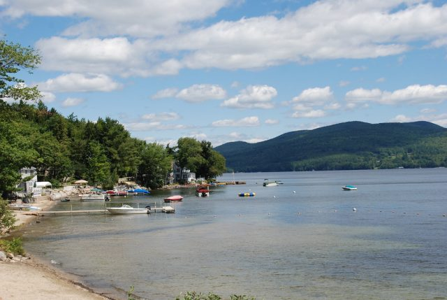 Newfound Lake in New Hampshire