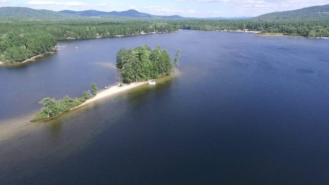 Ossipee Lake in New Hampshire