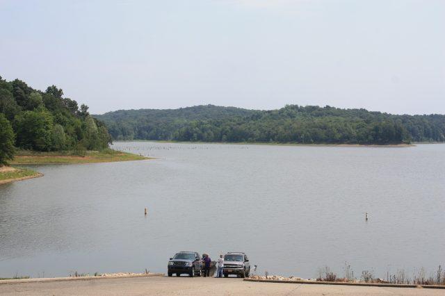 Patoka Lake in Southern Indiana