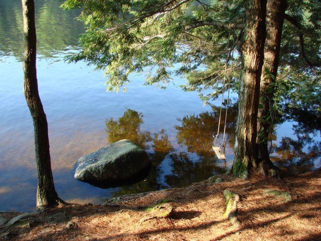 Pawtuckaway Lake in New Hampshire