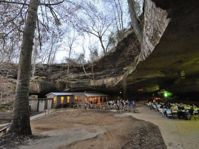 Rattlesnake Saloon Cave in Northern Alabama