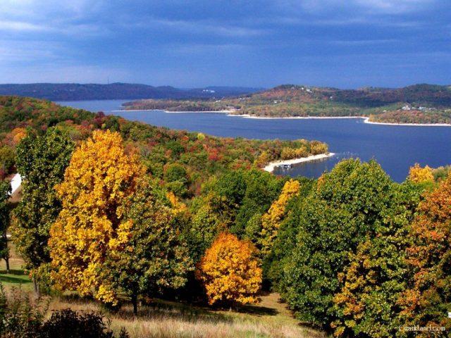 Table Rock Lake in Northern Arkansas