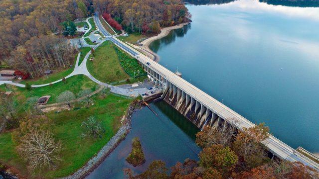 Triadelphia Reservoir in Central Maryland