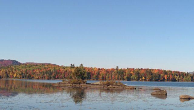 Umbagog Lake in New Hampshire