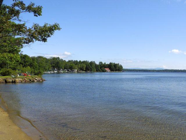 Winnisquam Lake in New Hampshire