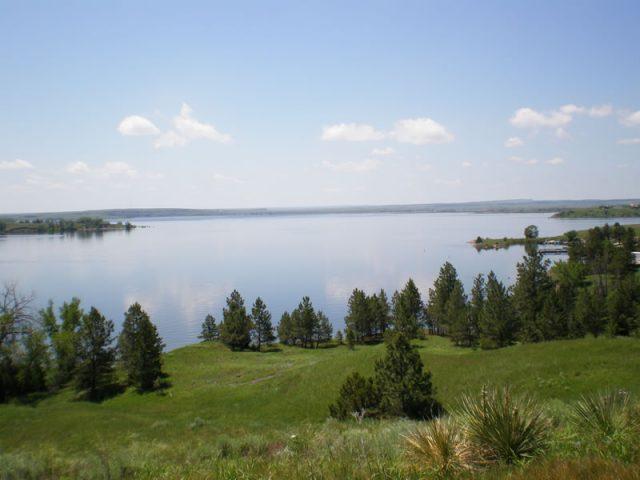 Angostura Reservoir in South Dakota