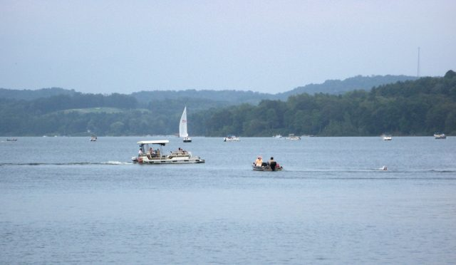 Atwood Lake in Eastern Ohio