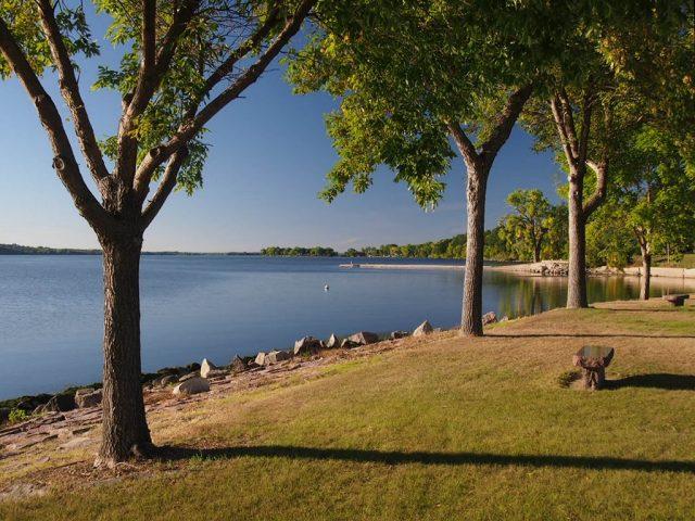 Big Stone Lake in South Dakota