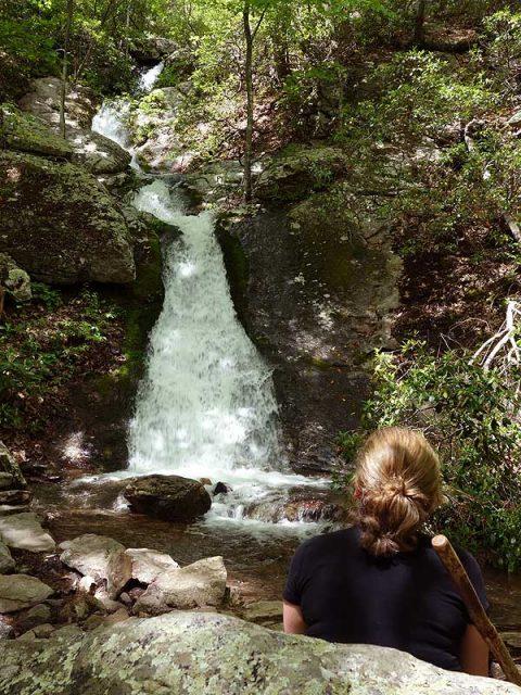 Blue Suck Falls in Western Virginia