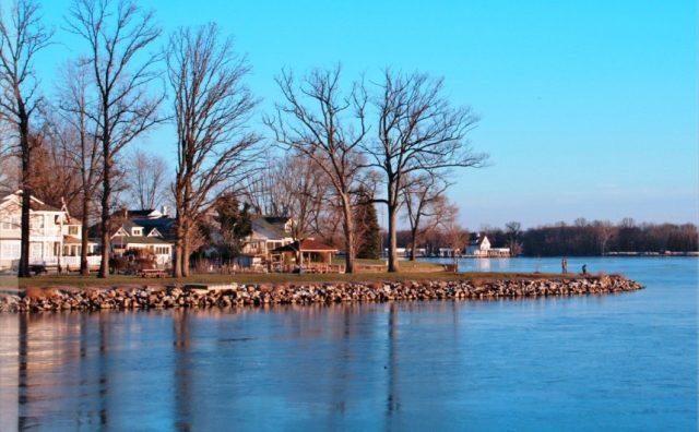 Buckeye Lake in Central Ohio
