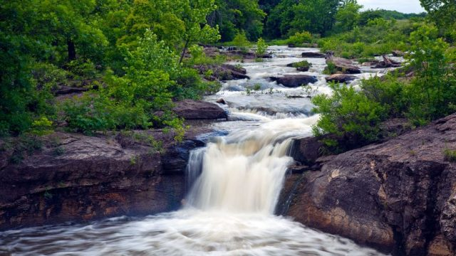 Butcher Falls in Kansas