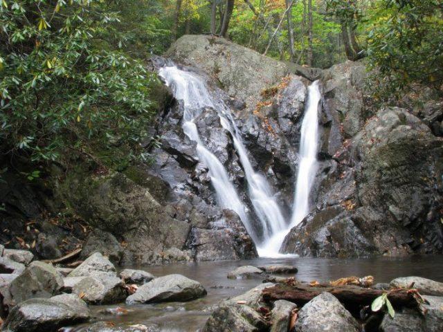 Cabin Creek Trail Falls in Southern Virginia
