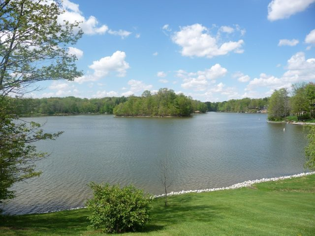 Candlewood Lake in Central Ohio