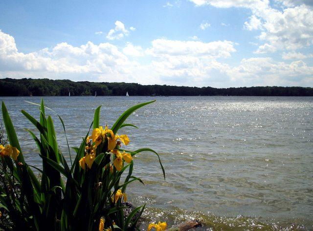 Cowan Lake in Southern Ohio