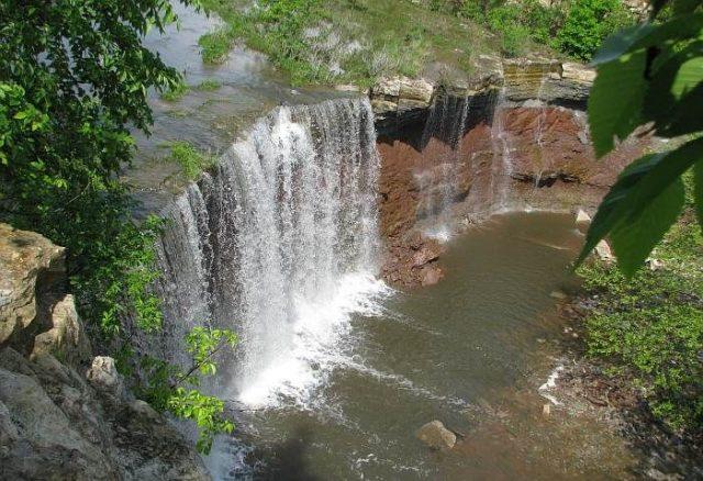 Cowley Falls in Kansas