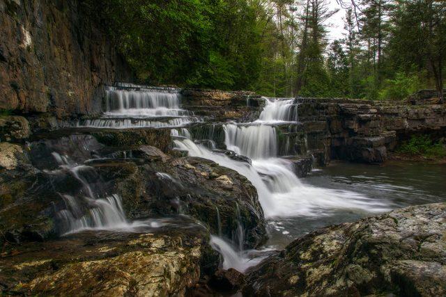 Dismal Falls in Southern Virginia