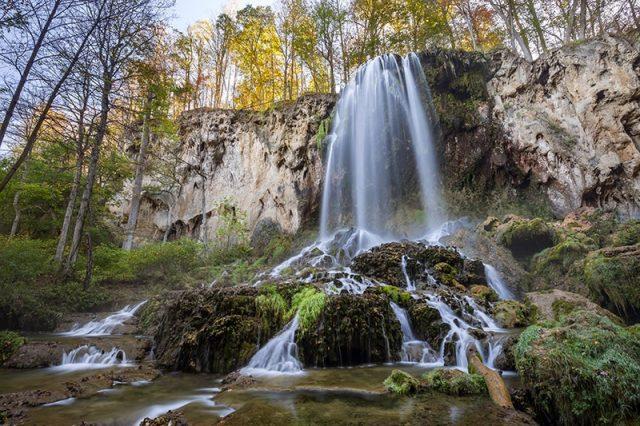Falling Spring Falls in Southern Virginia