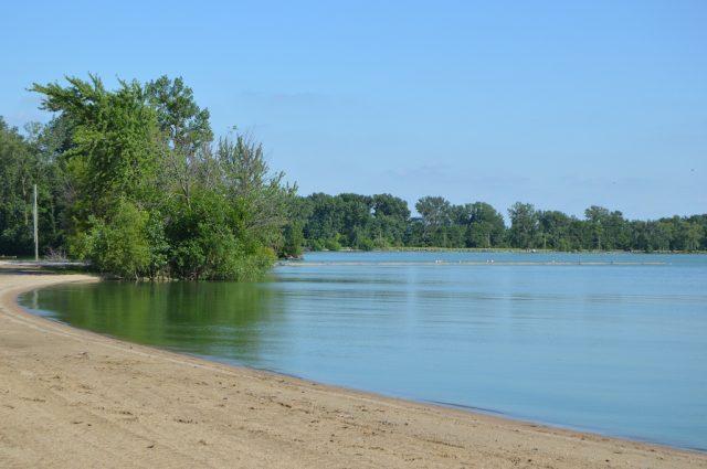 Grand Lake St. Marys in Western Ohio
