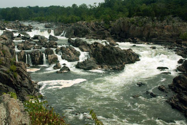 Great Falls in Northern Virginia