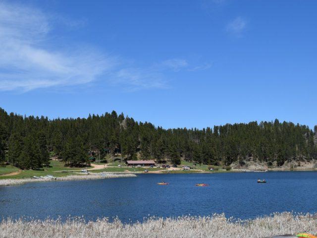 Iron Creek Lake in South Dakota