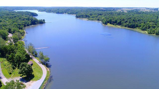 Kiser Lake in Eastern Ohio