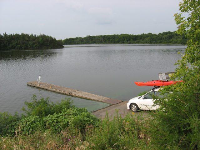 Lake Alvin in South Dakota