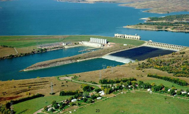 Lake Francis Case in South Dakota