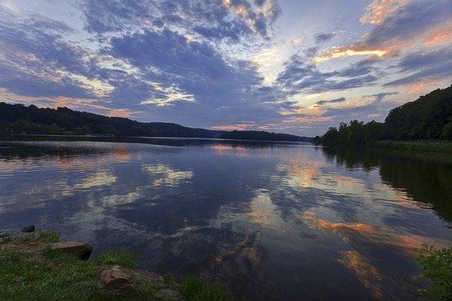 Lake Logan in Southern Ohio
