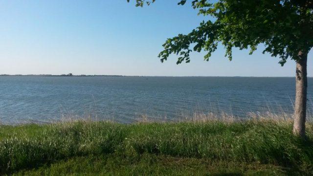 Lake Thompson in South Dakota