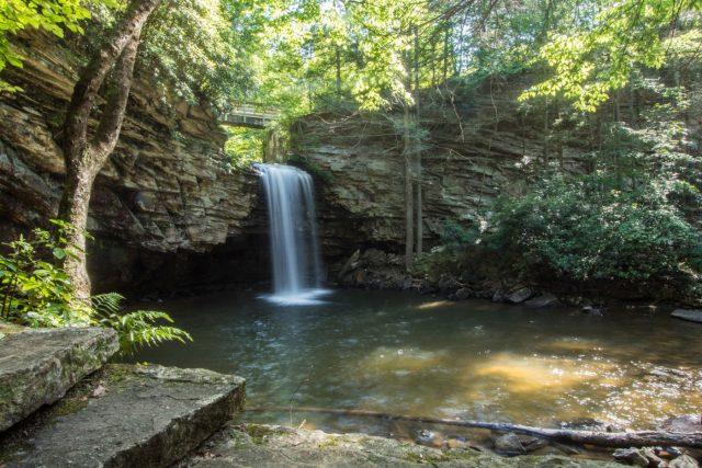 Little Stoney Creek Falls in Southern Virginia