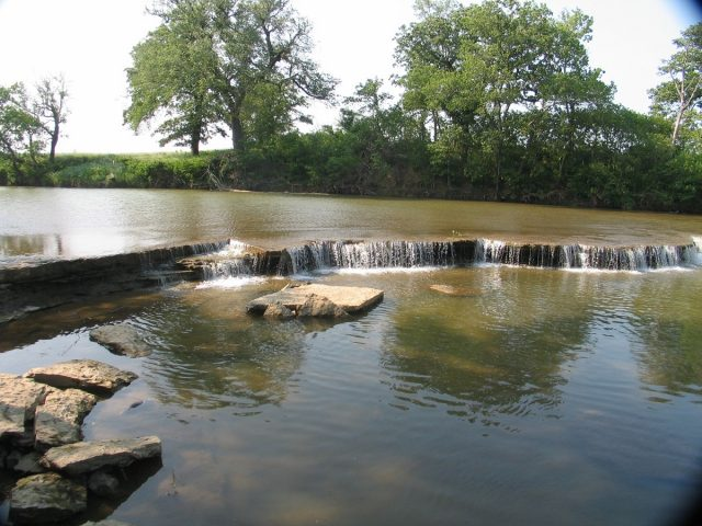 Ozro Waterfalls in kansas