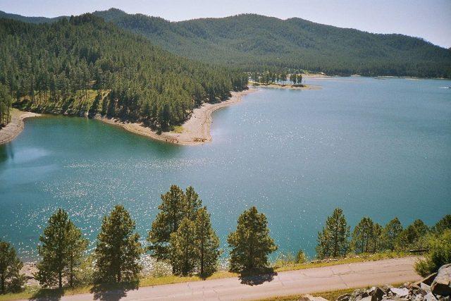 Pactola Lake in South Dakota