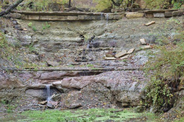 Prather Creek Falls in Kansas