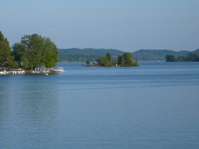 Seneca Lake in Southern Ohio