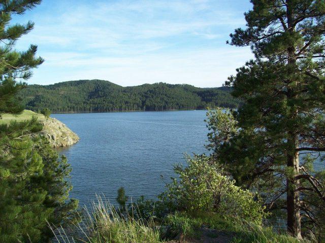 Sheridan Lake in South Dakota