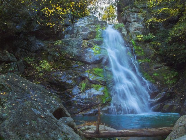 Stiles Falls in Southern Virginia