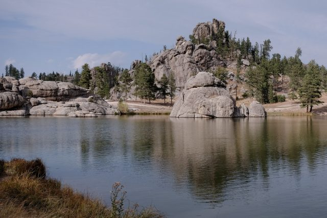 Sylvan Lake in South Dakota