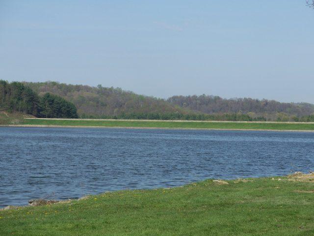 Tappan Lake in Eastern Ohio