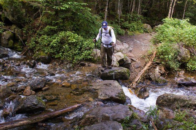 Ammonoosuc Ravine Trail in Northern New Hampshire
