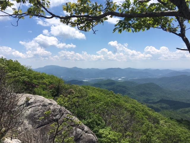 Appalachian Trailin Western North Carolina